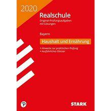 Buch - Realschule 2020 - Haushalt und Ernährung - Bayern