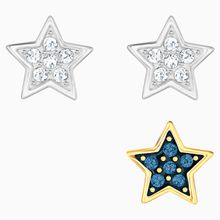 Crystal Wishes Star Ohrringset, mehrfarbig, Metallmix