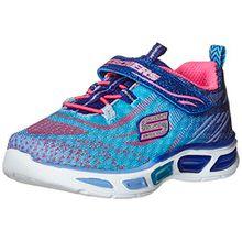 Skechers Mädchen Litebeams Sneakers, Mehrfarbig (Blhp), 29 EU
