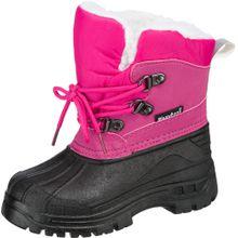 PLAYSHOES Winterstiefel pink / schwarz