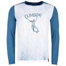 Chillaz - Alaro Klettering - Longsleeve Gr L;M;S;XL weiß/blau/grau