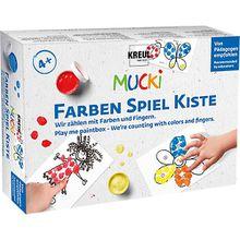 Mucki Farben-Spiel-Kiste - Wir zählen mit Farben und Fingern