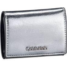 Calvin Klein Geldbörse Small Wallet Silver