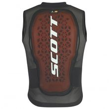 Scott - Kid's Airflex Vest Protector - Protektor Gr M;S;XS;XXS schwarz;schwarz/braun;türkis/grau/beige