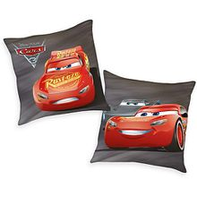 Kuschelkissen Disney`s Cars 3, 40 x 40 cm bunt