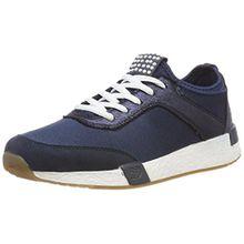 TOM TAILOR Damen 4899101 Sneaker, Blau (Navy), 38 EU