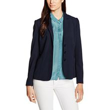 Betty Barclay Damen Blazer 3984/1860, Blau (Dark Sky 8345), 44