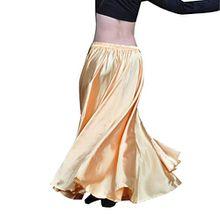 YouPue Damen Tanzkostüm Bauchtanz-Kostüm sexy High-End-Dual Rock Bauchtanz Leistungen große Rock Komfort (nicht enthalten Gürtel) Gürtel Kostüme Bauchtanz Taille Kette dunkles Gold