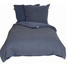 Schöner Wohnen Bettwäsche-Set, Baumwolle, Dunkelblau, 200 x 135 cm