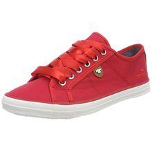 TOM TAILOR Damen 4890602 Bootsschuhe, Rot (Red), 40 EU