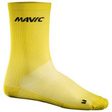 Mavic - Cosmic High Sock - Radsocken Gr 35-38 grau