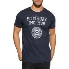 Mishumo T-Shirt in blau für Herren