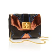 AUGUSTIN CROSSBODY - METALLIC