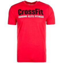 Reebok CrossFit Forging Elite Fitness Trainingsshirt Herren rot Herren