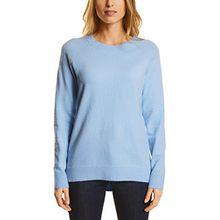 Street One Damen Pullover 300498 Maria, Blau (Morning Blue Knit 11215), 40