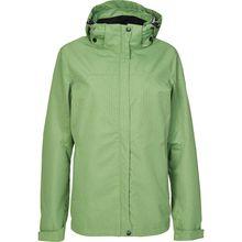 KILLTEC Outdoorjacken Inkele - Funktionsjacke mit abzippbarer Kapuze grün Damen