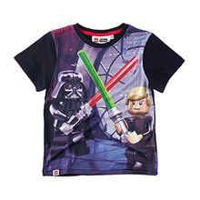 LEGO Star Wars Jungen T-Shirt - schwarz - 116