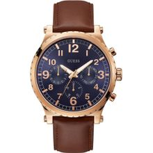GUESS Uhr 'Arrow, W1215G1' braun / rosegold