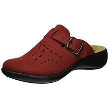 Romika Damen Ibiza Home 315 Pantoffeln, Rot (Rot), 38 EU