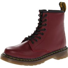 Dr. Martens DELANEY Softy T CHERRY RED, Unisex-Kinder Bootsschuhe, Rot (Cherry Red), 30 EU (11.5 Kinder UK)