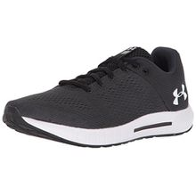 Under Armour Damen Micro G W Pursuit 3000101-100 Sneaker, Mehrfarbig (Black,Grey 001), 40 EU
