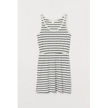 H & M - Jerseykleid aus Modalmix - White - Damen