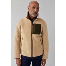 CLOSED Reversible Shearling Jacket fox brown