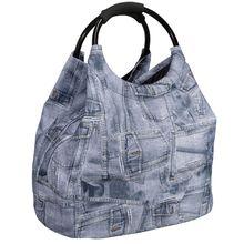 HTI-Living Shopper blau-kombi