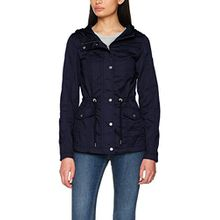 ONLY Damen Onlnew Kate Spring Parka Jacket Otw Noos, Blau (Night Sky Night Sky), 38 (Herstellergröße: M)