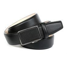 Anthoni Crown Ledergürtel mit Leinenstoffmuster Ledergürtel schwarz Herren