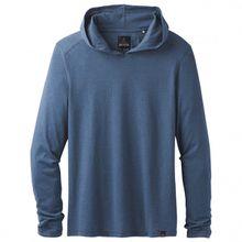 Prana - Prana L/S Hood - Longsleeve Gr L;M;S;XL schwarz/grau;blau