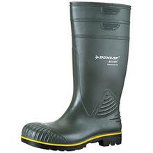 Dunlop B440631 Acifort Knie GROEN 48, Unisex-Erwachsene Langschaft Gummistiefel, Grün (Grün(Groen) 08), 48 EU