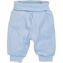 Schnizler Baby - Jungen Hose Nicki Jogginghose, Babyhose mit elastischem Bauchumschlag, Oeko - Tex Standard 100, Gr. 80, Blau (bleu 17)