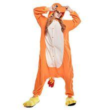 Free Fisher Damen/ Herren Schlafanzug Pyjama, Tier Kostüm, Glumanda, Gr. XL (Körpergröße 178-188 CM)