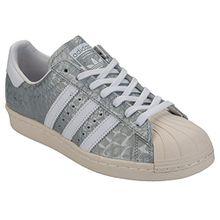 Adidas Sneaker Women Superstar 80S S76415 Silber, Schuhgröße:36