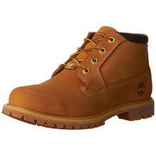 Timberland Nellie_Nellie Chukka Double, Damen Chukka Boots, Gelb (Wheat yellow), 38.5 EU