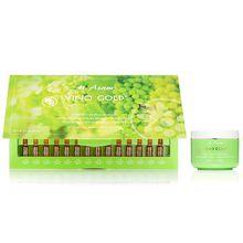 M.ASAM® Vino Gold® 24h-Creme 200ml Intensiv Ampullenkur 28x 1ml