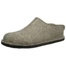 Haflinger Smily, Unisex-Erwachsene Pantoffeln, Braun (Torf 550), 41 EU