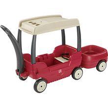 Bollerwagen 2 Kinder mit Dach  Kinder