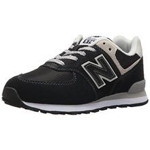 New Balance Pc574v1, Unisex-Kinder Sneaker, Schwarz (Black/Grey), 34.5 EU (2 UK)