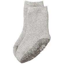 Sterntaler Unisex - Baby Socken Fli Fli Soft Uni, Einfarbig, Gr. 22 (Herstellergröße: 21/22), Grau (Silbe Melange 542)