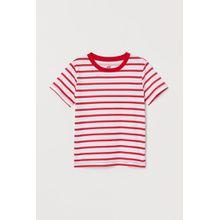 H & M - Gemustertes T-Shirt - Red - Kinder