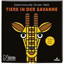 Buch - Geheimnisvolle Sticker-Welt: Tiere in der Savanne