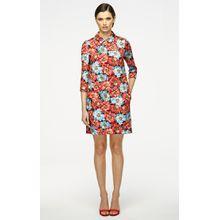 Escada Jacquard-Kleid mit Print