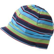 Schirmmütze  blau/grün Jungen Kleinkinder