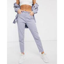 Missguided – Riot – Lila Mom-Jeans, Kombiteil-Violett