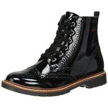 s.Oliver Damen 25465 Combat Boots, Schwarz (Black Patent), 37 EU