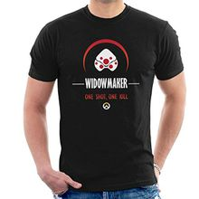 Widowmaker One Shot One Kill Overwatch Men's T-Shirt