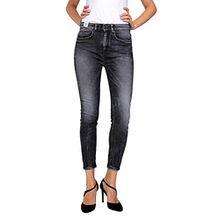 Drykorn Damen Jeans 7/8-Jeans CRUNCH, Farbe: Blau, Größe: 25/34