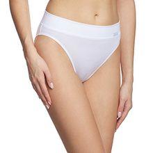 Calida Damen Slip Elastic, Einfarbig, Gr. 46 (Herstellergröße: M 44/46), Weiß (weiss 001)